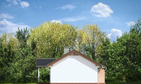 Проект дома из пеноблока «Уютный»