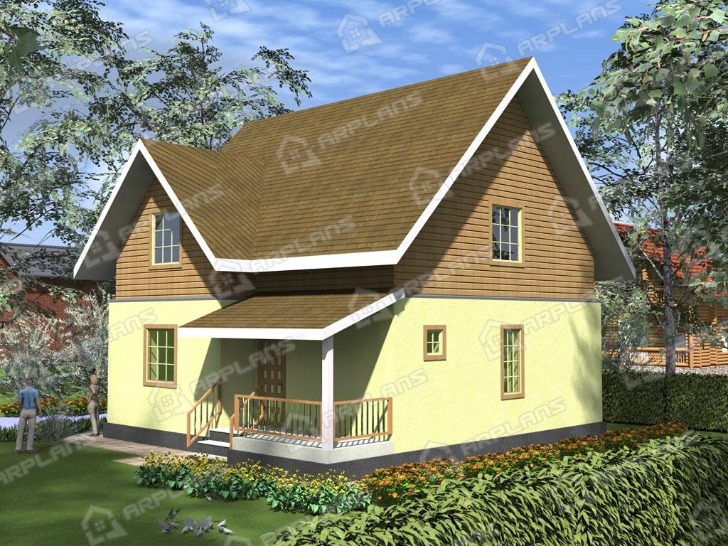 Проект комбинированного дома А-003