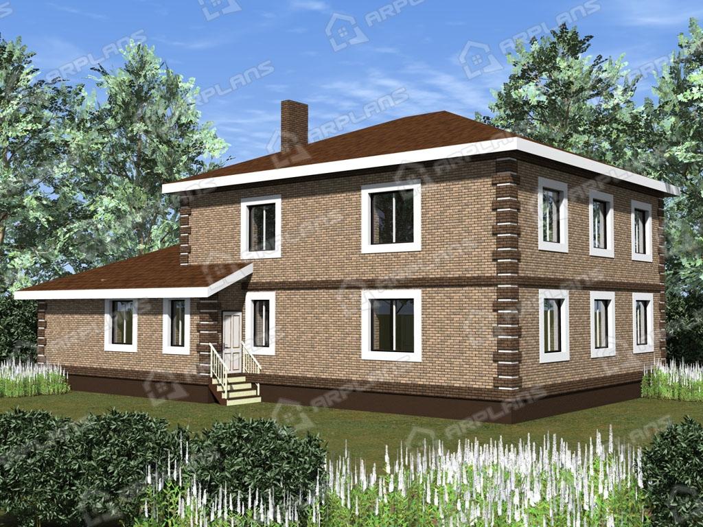 Проект дома из пеноблока К-004