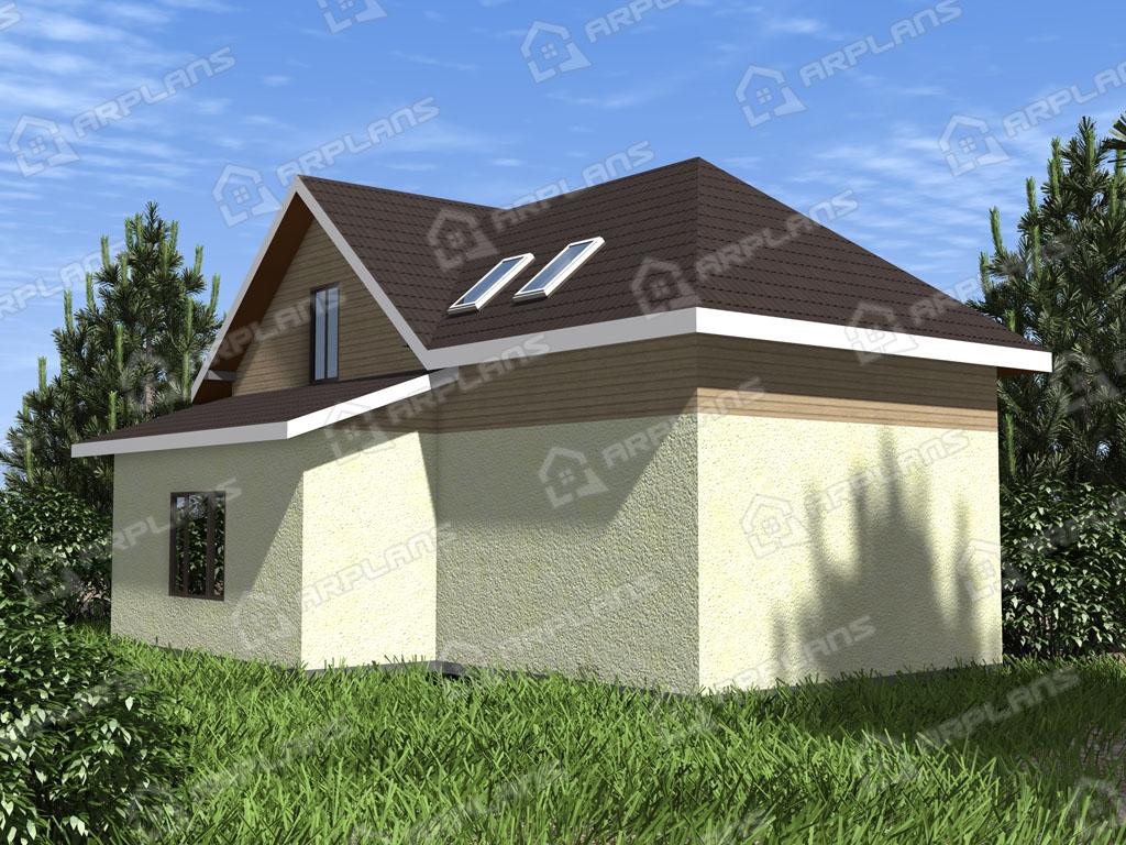 Проект каркасного дома И-001