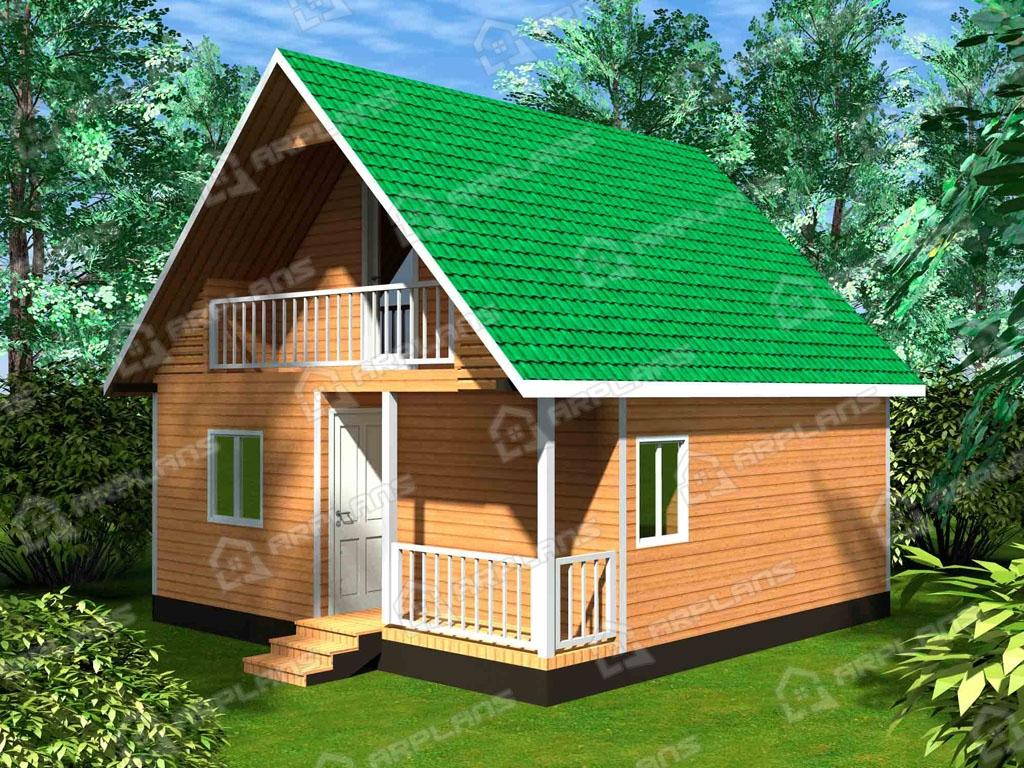 Проект каркасного дома И-003