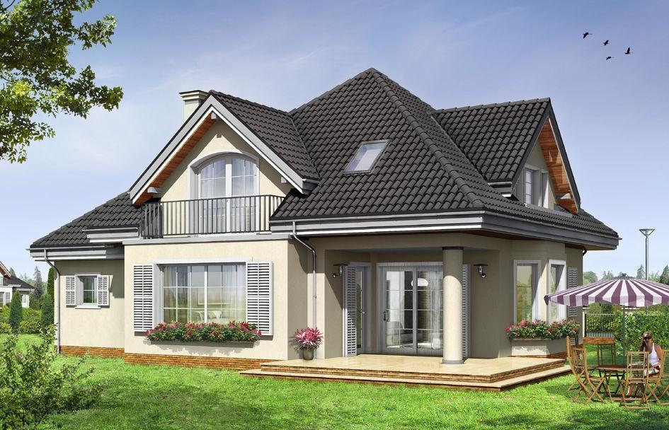 Проект дома из пеноблока «Элитный»