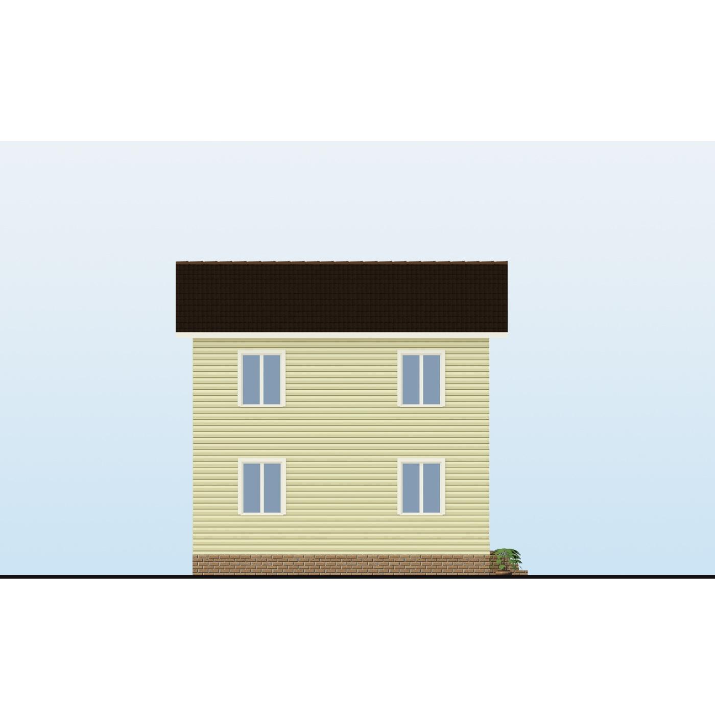 Проект каркасного дома «Раванна»